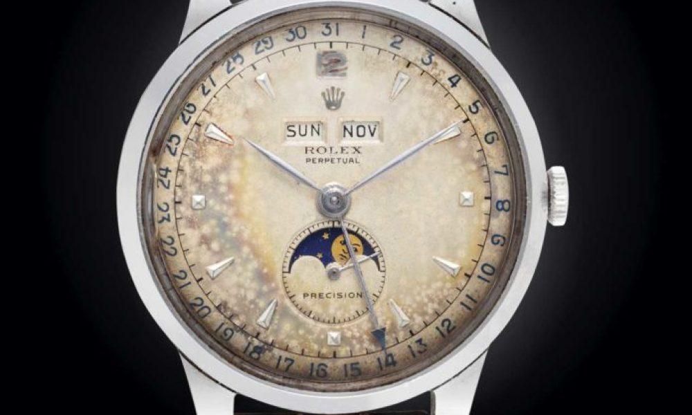 La tendencia de los relojes vintage con pátina